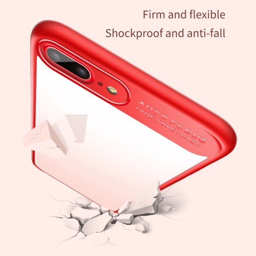 BASEUS Mirror Case For iPhone 7  / 8 - Red