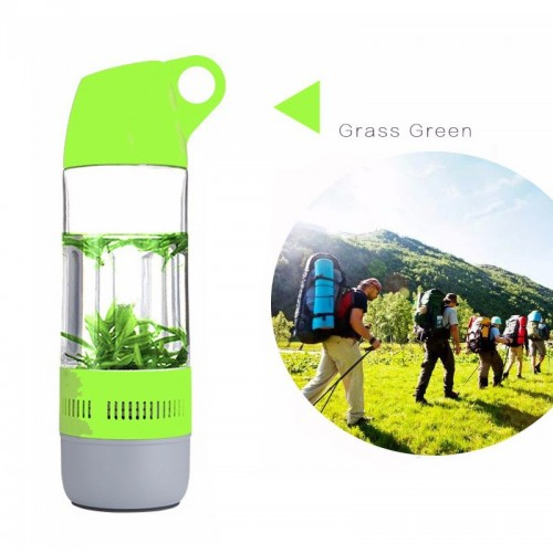 Portable  Water Bottle with Bluetooth Sp...