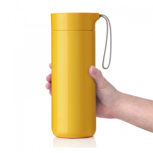 Butterfly Thermal Suction Bottle - Yello...