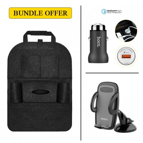 BUNDLE OFFER Car Back Seat Storage + HOC...