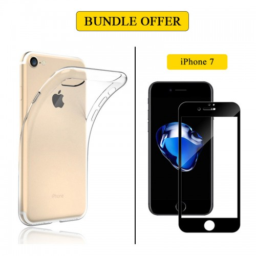 BUNDLE OFFER 3D Tempered Glass + Traspar...