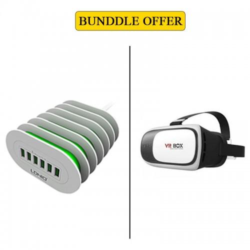 BUNDLE OFFER Ldnio 6 USB Charging HUB &a...