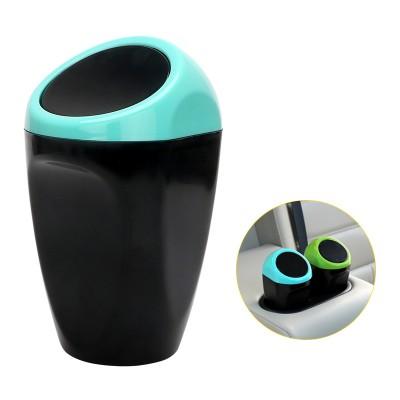 Universal Carbage Dust Auto Trash Mini Dustbin - Blue