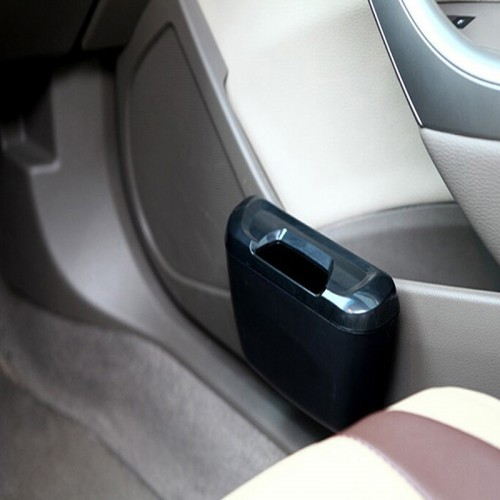 Multifunctional Car Dustbin - Black