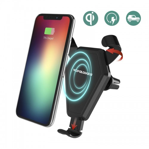 TotuLife Wireless Qi Car Charger With Ai...