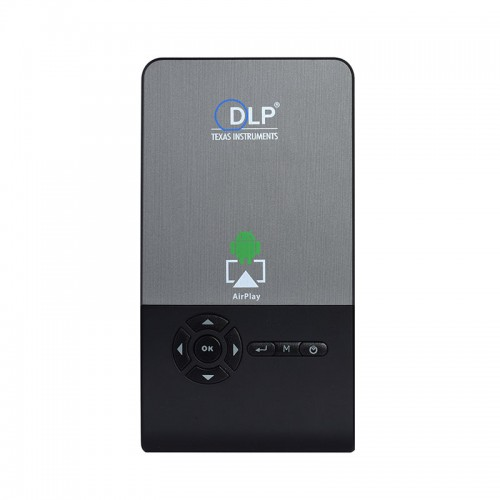 Mini Wifi Smart DLP Rechargeable Projec...
