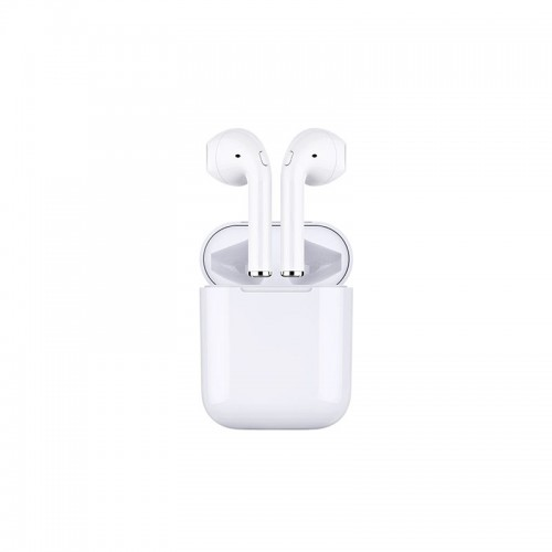 Double Ear Wireless Headset with Battery Case For All Smart Phones & Tablets