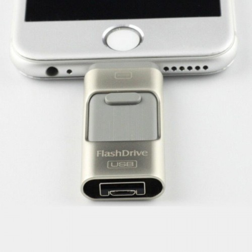 Dual Flash Drive For Android & IOS Devices - 64 GB