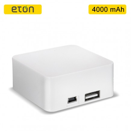 ETON BoostBloc 4000mAh Portable Power Bank - White