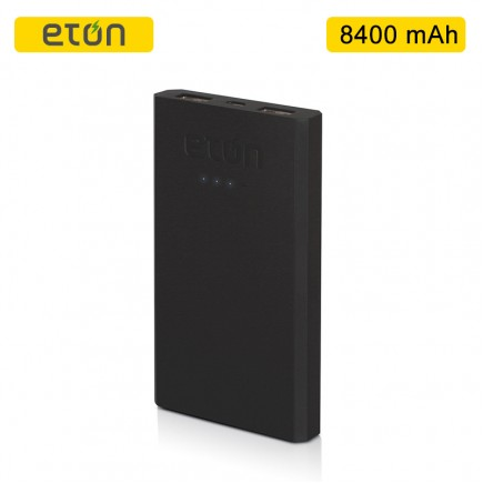 ETON Boost 8400 mAh Lithium Ion Power Bank - Black