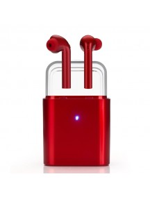 Fantime Fun7 Mini Wireless Twins TWS Earbuds Bluetooth Earphones For All Smart Phones - Red