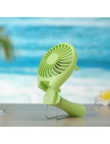 Rechargable Fish Designed Portable USB Fan - Green