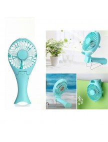 Rechargable Fish Designed Portable USB Fan - Blue