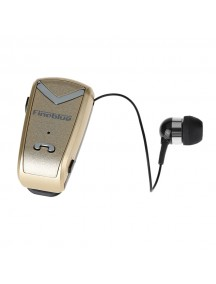 FINEBLUE F-V2 Auriculares Bluetooth In-Ear Wear Clip Sports Earphone - Gold