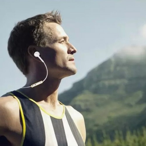 FINEBLUE Mate 8 Bluetooth Sport Wireless Earphone - White