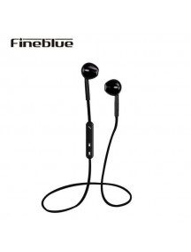 FINEBLUE Mate 7 Bluetooth Sport Wireless Earphone - Black