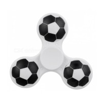 E-SMARTER Football Pattern Fidget Spinner -White