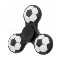 E-SMARTER Football Pattern Fidget Spinner -Black