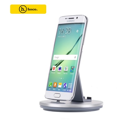 HOCO Mobile Phone Charging Station For MICRO USB Devices - Silver