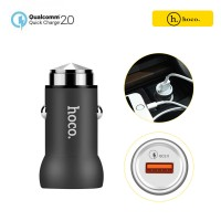 HOCO Qualcomm 2.0 Quick Charger Z4 Car Charger For All Smart Phones & Tablets - Black