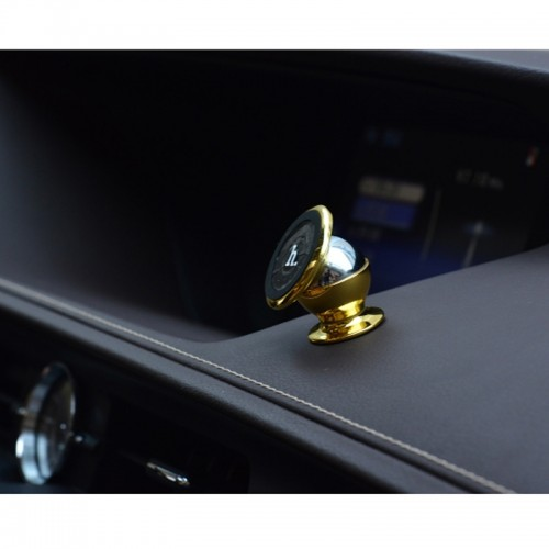 HOCO  Magnetic Mobile Car Mount For All Smart Phones - Gold