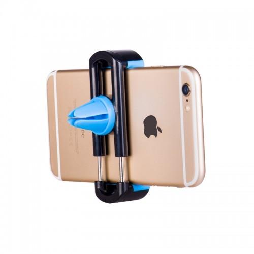 HOCO 360 Degree Rotation Car AC Vent Holder for Smartphones - Black/Blue