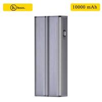 HOCO 5000mAh Portable Power Bank with LED Light - Gray
