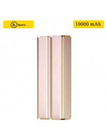 HOCO 5000mAh Portable Power Bank with LED Light - Gold