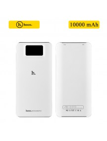HOCO 10000 mAh 2 USB Power Bank with Quick Charge - White