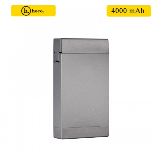 HOCO 4000 mAh Power Bank with Lighter - Tarnish