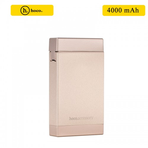HOCO 4000 mAh Power Bank with Lighter - ...