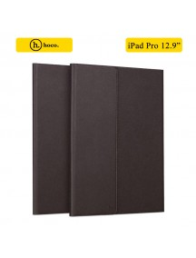HOCO Portfolio Series Ultra Slim Stand Leather Case For Apple iPad Pro 12.9 Inch - Brown