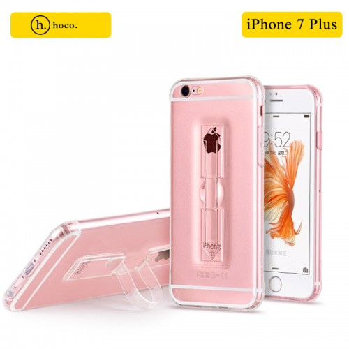 HOCO Transparent TPU Grip Case For iPhone 7 Plus / 8 Plus - Transparent Clear