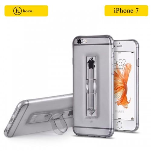 HOCO Transparent TPU Grip Case For iPhone 7 / 8 - Transparent Black