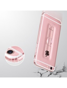 HOCO Transparent TPU Grip Case For iPhone 7 - Transparent Black