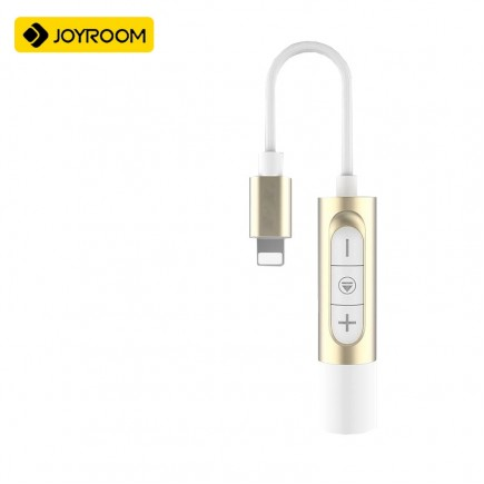 JOYROOM 2 in 1 Adapter For iPhone 7 & 7 Plus - White