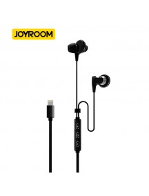 JOYROOM Lightning USB Headset For iPhone 6, 6S , 6 Plus , 6S Plus , iPhone 7 , iPhone 7 Plus - Black