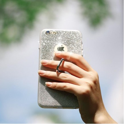 Joyroom Honey Series Shining Grip Case For iPhone 6/6S - Silver
