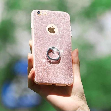 Joyroom Honey Series Shining Grip Case For iPhone 6/6S - Gold