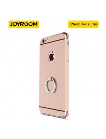 JOYROOM Luxury Ling Series Grip Ring Case For iPhone 6 Plus/6S Plus - Rose Gold