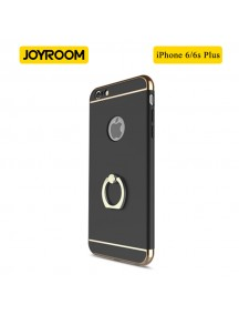 JOYROOM Luxury Ling Series Grip Ring Case For iPhone 6 Plus/6S Plus - Black