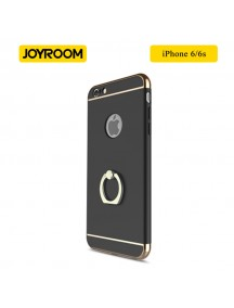 JOYROOM Luxury Ling Series Grip Ring Case For iPhone 6/6S - Black
