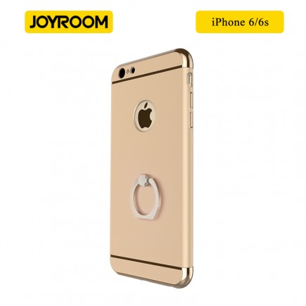 JOYROOM Luxury Ling Series Grip Ring Case For iPhone 6/6S - Gold