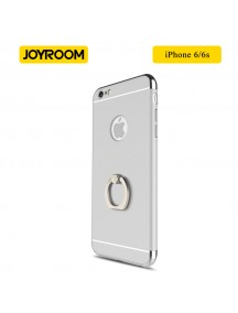 JOYROOM Luxury Ling Series Grip Ring Case For iPhone 6/6S - Silver