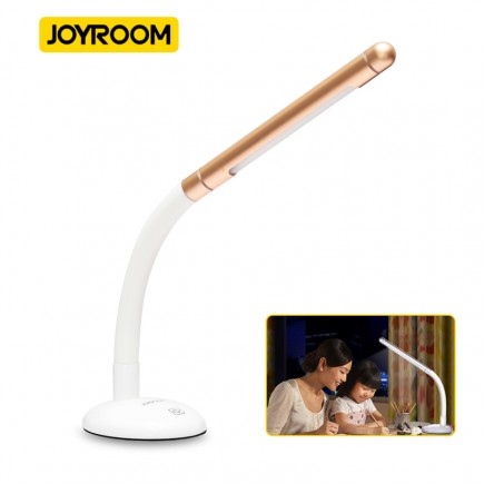 Joyroom Portable Mini LED Light Desk Lamp  - Gold