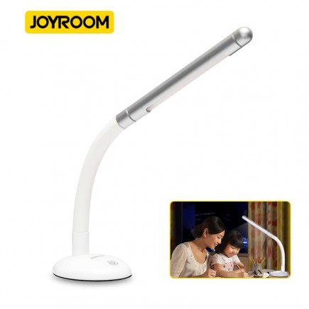 Joyroom Portable Mini LED Light Desk Lamp  - Silver