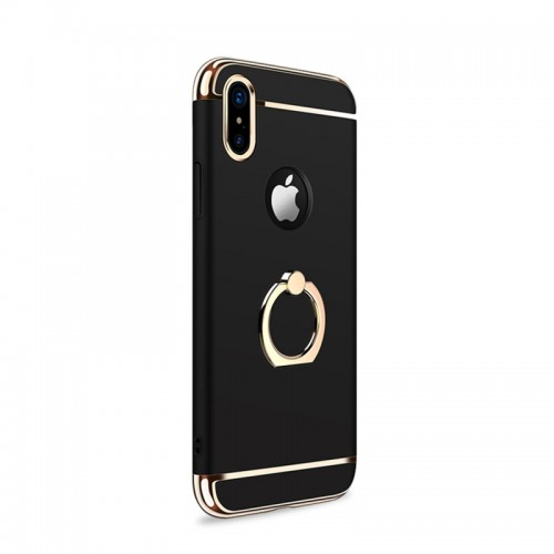 JOYROOM Ling-R Series Grip Case For iPhone X - Black