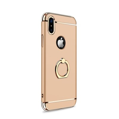 JOYROOM Ling-R Series Grip Case For iPhone X - Gold