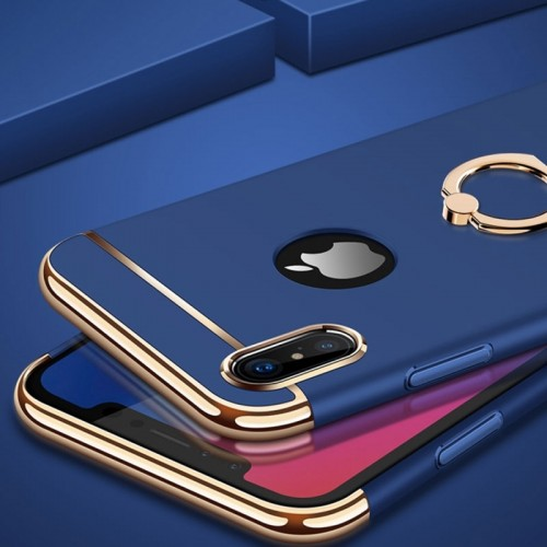 JOYROOM Ling-R Series Grip Case For iPhone X - Blue