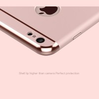 JOYROOM Luxury Ling Series Grip Ring Case For IPhone 7 - Rose Gold
